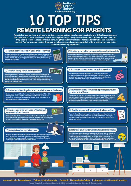Remote Learning for Parents 1